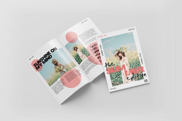 Booklet Printing A4 A5 A6 - Self Cover, 250gsm, 350gsm Cover | Atlantis Print